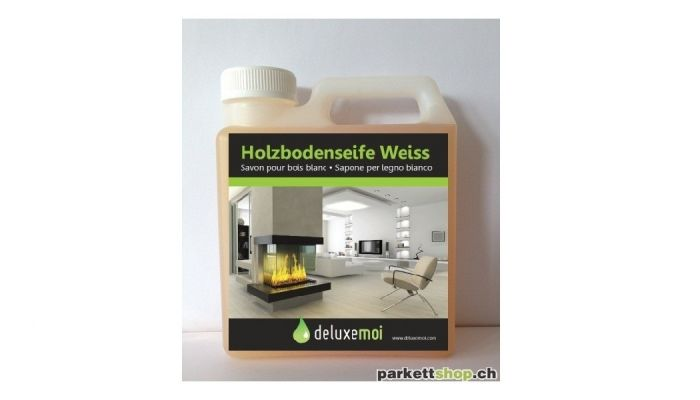 Holzbodenseife Weiss