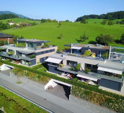 Neubau von 2 MFH's, Kastanienbaum