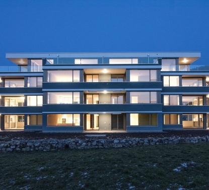 Neubau Mehrfamilienhaus Kerns